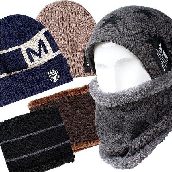 겨울 방한모자 모음/여성 남성 방한 비니 털 모자
