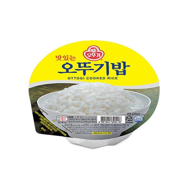 맛있는 오뚜기밥 210g 2박스(48개)