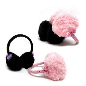 BD 따뜻한 유아용 리본공주 귀마개
