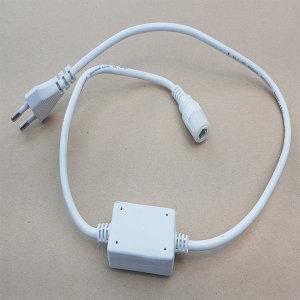 LED 사각 논네온 단색용 전원 연결 잭