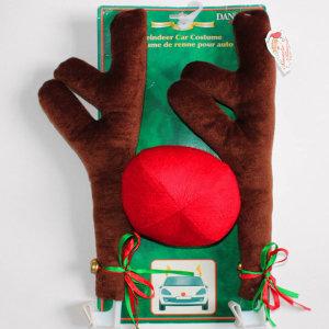 루돌프장식 사슴코장식 사슴뿔 빨간코 크리스마스 연