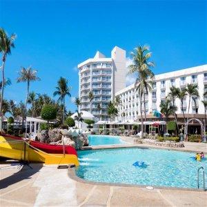 SAIPAN 조용한 수수페 해안에서 휴가를 에어텔 Kanoa Resort 4/5일