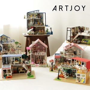 아트조이 DIY 미니어처하우스/미니어쳐하우스 만들기