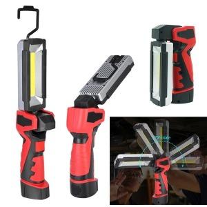 LED 충전식 작업등 자석 랜턴 걸이등 손전등 COB KKK07