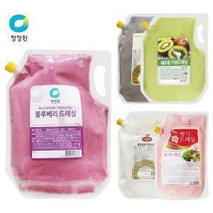 샐러드 드레싱 소스 모음 2kg/치킨/야채/과일/발사믹