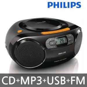 (MP3 CD 오디오)라디오+카세트+USB+라인인 단자/AZ388