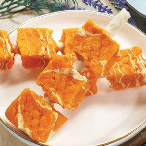 펫스토리 수제꼬치 강아지 육포 개껌 간식 연어