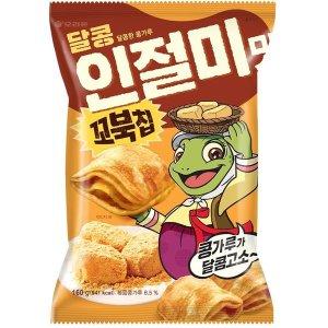 오리온_꼬북칩달콩인절미맛_160G