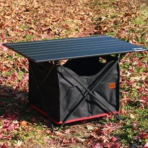특대형 캠핑 롤테이블 테이블 폴딩 정리 수납 바스켓