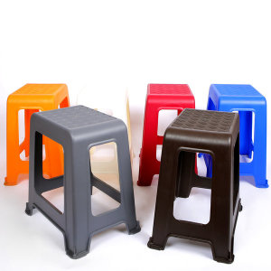 플라스틱 라탄의자(직사각) 보조 간이 행사 포장마차