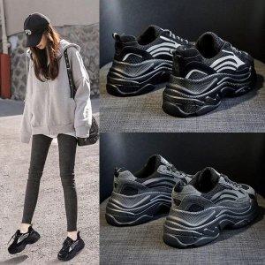 그레이블랙 여자 통굽 어글리슈즈 스탠딩 키높이 신발