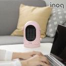 이노크 미니 온풍기 PTC히터 탁상용 난로 IA-E2 핑크
