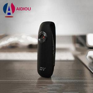 IDV007 미니 액션카메라 초소형 바디캠 녹음 블랙박스