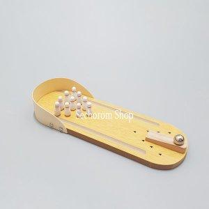 앵무새 볼링센터 장난감 (새용품)훈련용품 장난감