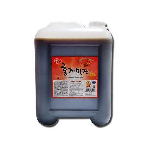 홍게간장 레드15L 국산 무방부제 건강한 맛간장