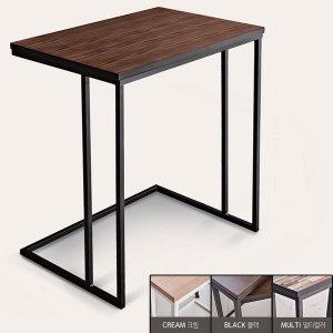 거실 소파 사이드 간이 테이블 침대 보조 철제 협탁