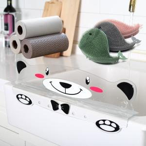 싱크대물막이 수세미 주방용품