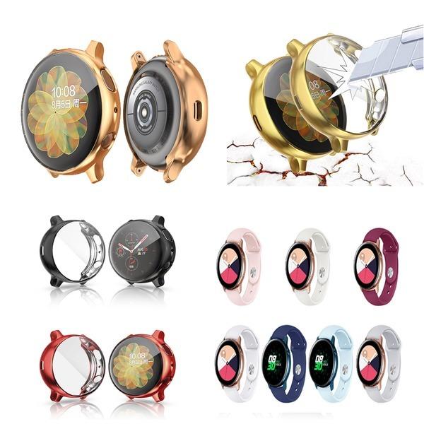 갤럭시워치 액티브2 40/44 풀커버 케이스 범퍼 시계줄