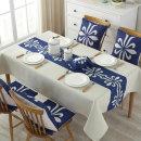 코코아이티 아시아풍 린넨 식탁보 테이블보 100x140cm