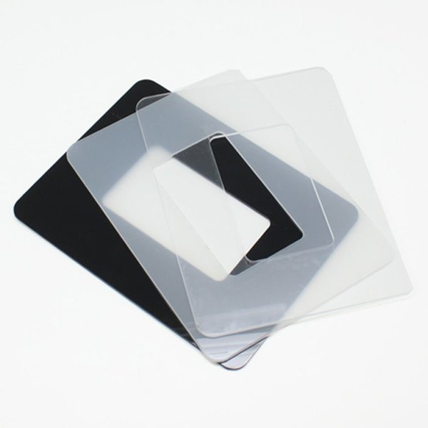 빠띠라인 아크릴 스위치 커버 소형 투명 블랙 미색 DI