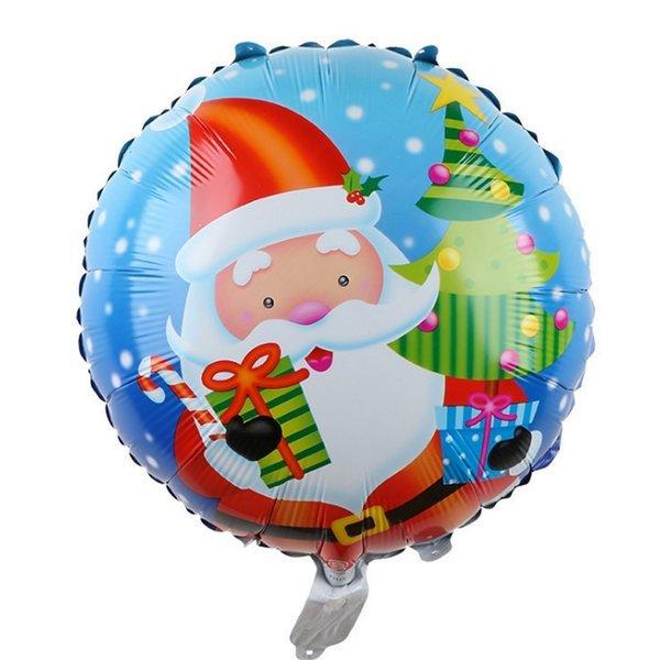 원블루 크리스마스 은박풍선-파티 x-mas 트리 장식
