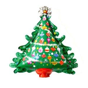 크리스마스트리(소)은박풍선-파티 x-mas 트리 장식