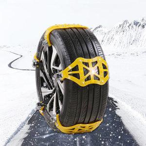 차량용 스노우체인 자동차 체인 스노 우레탄 타이어