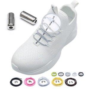 Moizi 노매듭캡슐 매듭없는 안풀리는 깔끔 신발끈
