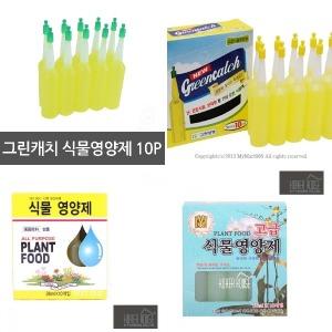 (10개묶음)식물영양제10개 앰플형 액체 화분 원예 화