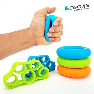젤리 악력기 그립 5개1세트 실리콘 손가락운동