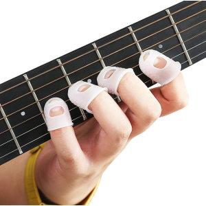 기타 핑거팁스 우쿨렐레 손가락 골무 여성용