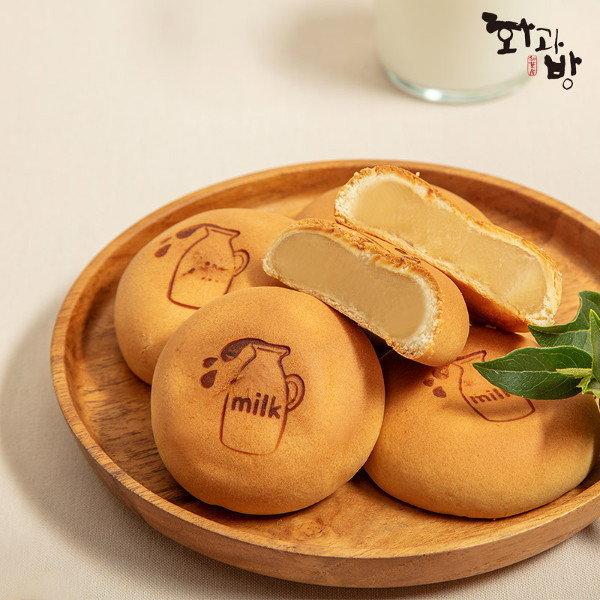 화과방  유기농 우유로 만든 우유앙빵 (35gx30개입)