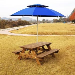 (방부목 제작) 야외 6~8인용 테이블 야외용 식탁 의자