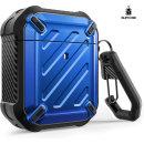 Supcase 에어팟 1/2 케이스 Airpods 보호 케이스 블루