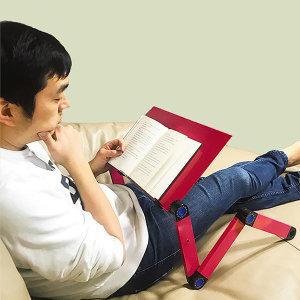 다이얼서대 누워서책보기 각도조절 독서대 올블랙