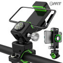 OMT 자전거 360도회전 강력 휴대폰 거치대 OSA-Q3 블랙