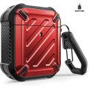 Supcase 에어팟 1/2 케이스 Airpods 보호 케이스 레드