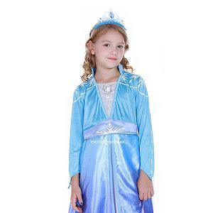 (꼬마스타) 겨울왕국2 엘사 일반형 드레스