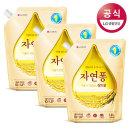 자연퐁 주방세제 쌀뜨물 리필 1.4L 3개