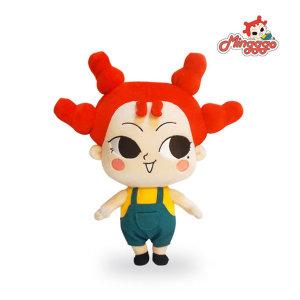 유튜브 밍꼬발랄 Mingggo 캐릭터 봉제인형 25cm