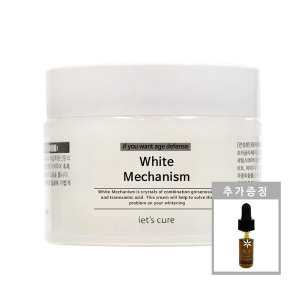 레츠큐어 화이트메카니즘 미백광채크림 50g
