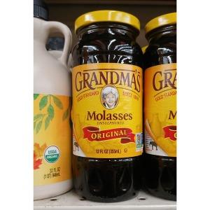 Grandmas 달지않은 당밀 몰라세스 시럽 355ml 2팩