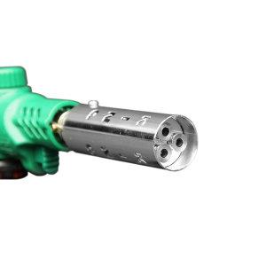 고화력 쓰리화구 원터치 자동 가스토치 부탄가스 특허
