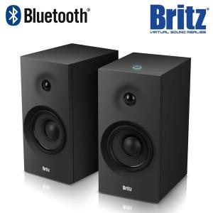 BR-R607BT 2채널 블루투스 스피커 북쉘프 Hi-Fi 블랙~