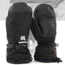 BEC-TEX 스키장갑 블랙 3중방수 방한 벙어리 보드장갑