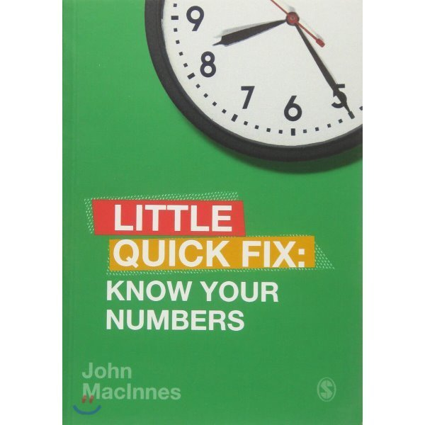 Know Your Numbers : Little Quick Fix  John MacInnes