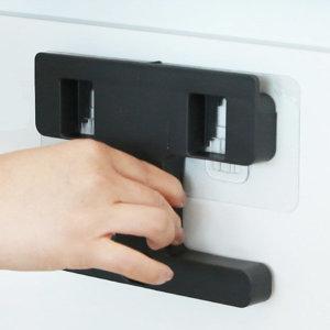 벽걸이휴지통 전용 접착패드 (투명) 1매