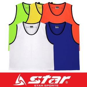 스타 유소년 성인 망사 팀조끼 행사 단체 체육 대회