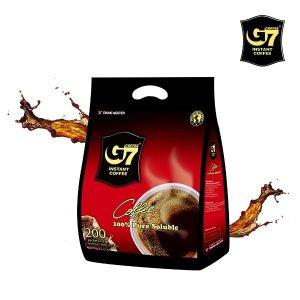 지세븐 G7커피 수출용 블랙커피 200T