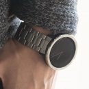 갤럭시액티브2 워치 시계줄 링케 메탈 밴드 블랙